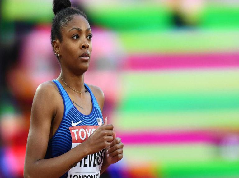 Año y medio de suspensión para finalista olímpica Deajah Stevens