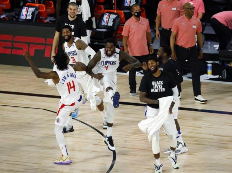 George y Clippers dan exhibición de triples ante Pelicans