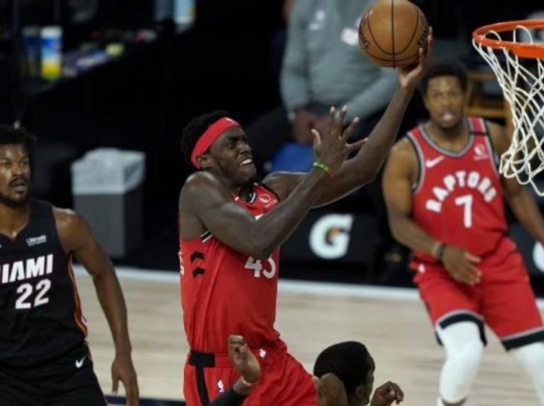 Los Raptors de Toronto vencieron a los Hetas de Miami