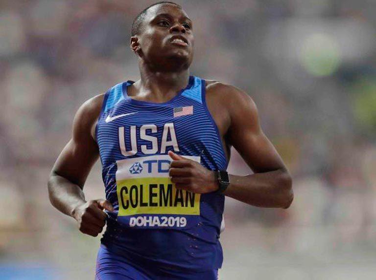Coleman quedó fuera de Tokio tras suspensión por dopaje