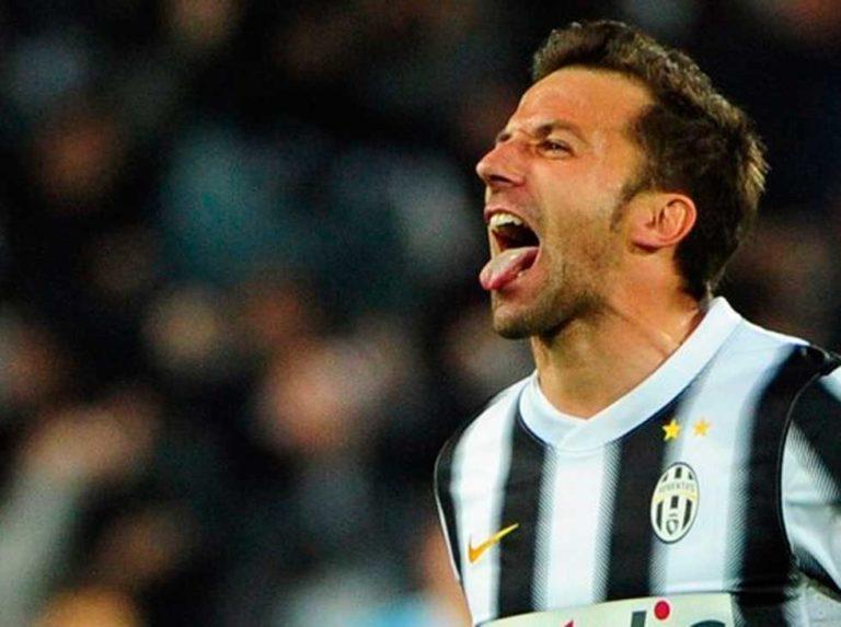 """Del Piero: """"En mi niñez ensayaba faltas en mi casa, inspirándome en Diego"""""""