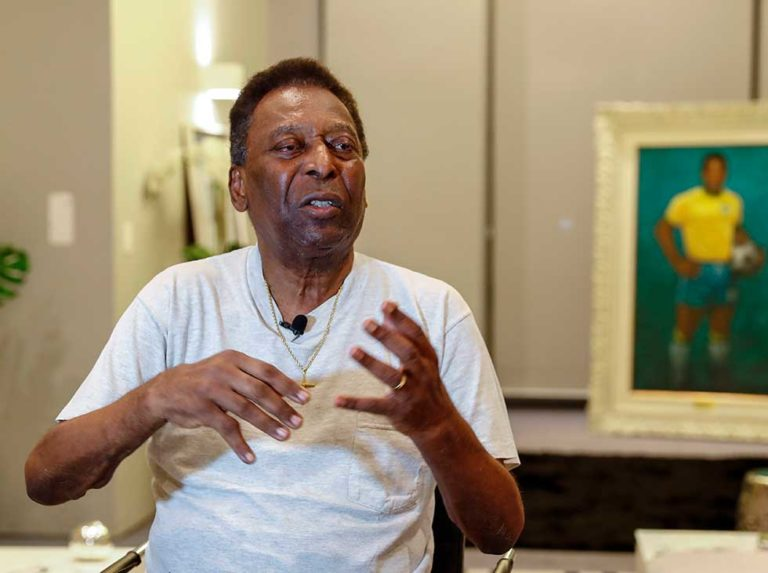 80 years of King Pelé   The Brazilian expressed his gratitude