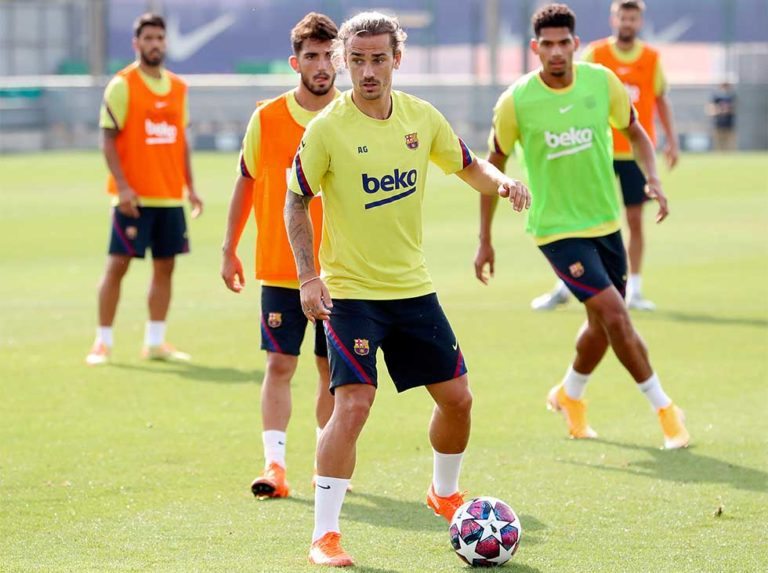 Griezmann relies on Barcelona's weapons to advance