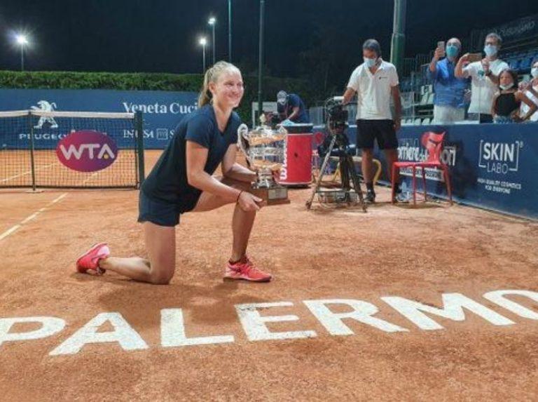 Fiona Ferro logró su segundo título WTA