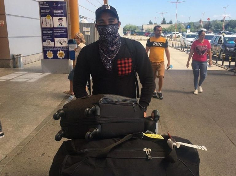 Gregory Vargas is already on Romanian soil