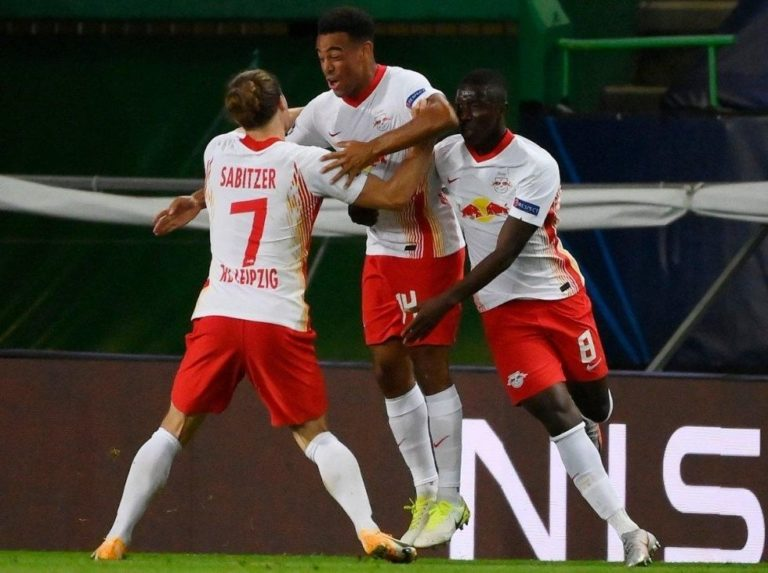 Tyler Adams put Leipzig to the semifinals of the Champions