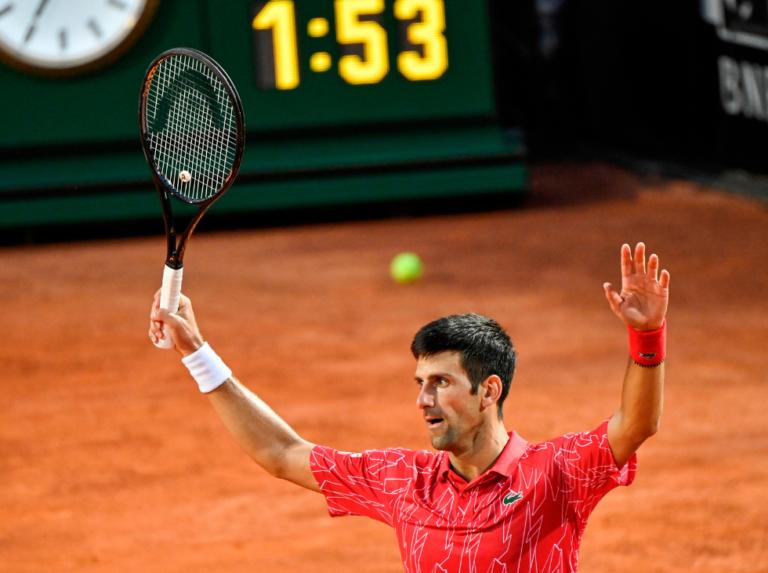 Djokovic venció a Schwartzman y conquistó Roma por quinta vez