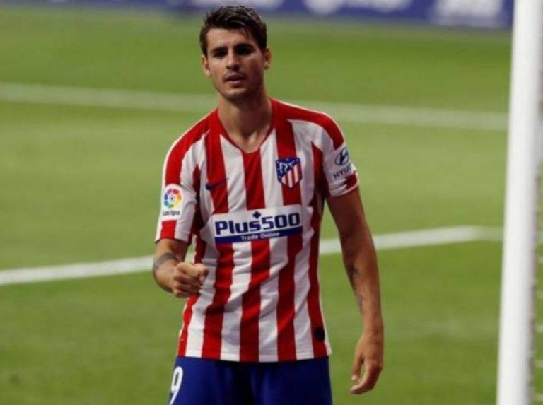 Morata ya no entrena con el Atlético rumbo a la Juventus