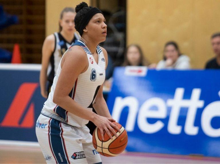 Daniela Wallen dazzled at the start of Icelandic basketball