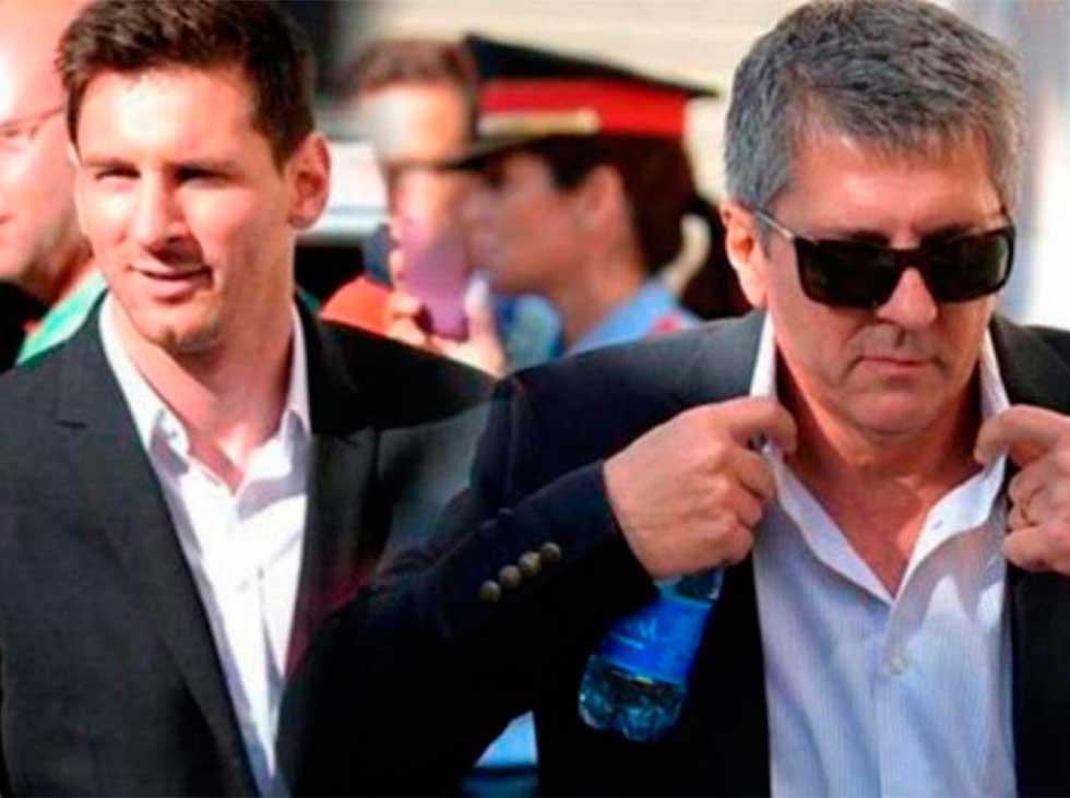 Padre De Messi Viaj U00f3 Para Negociar Con El Barcelona
