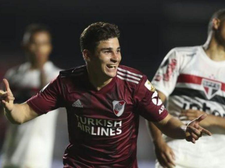 River Plate y Sao Paulo pactaron en el Morumbí