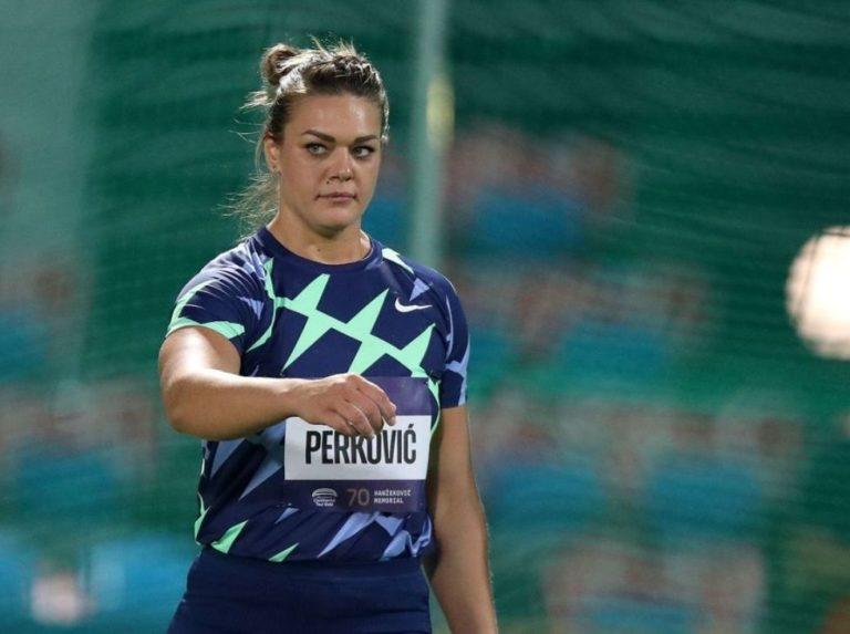 Sandra Perković regresó con victoria en Zagreb