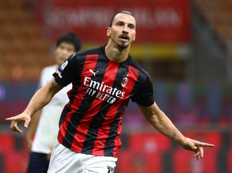 Un doblete de Ibrahimovic dio el primer triunfo al Milan