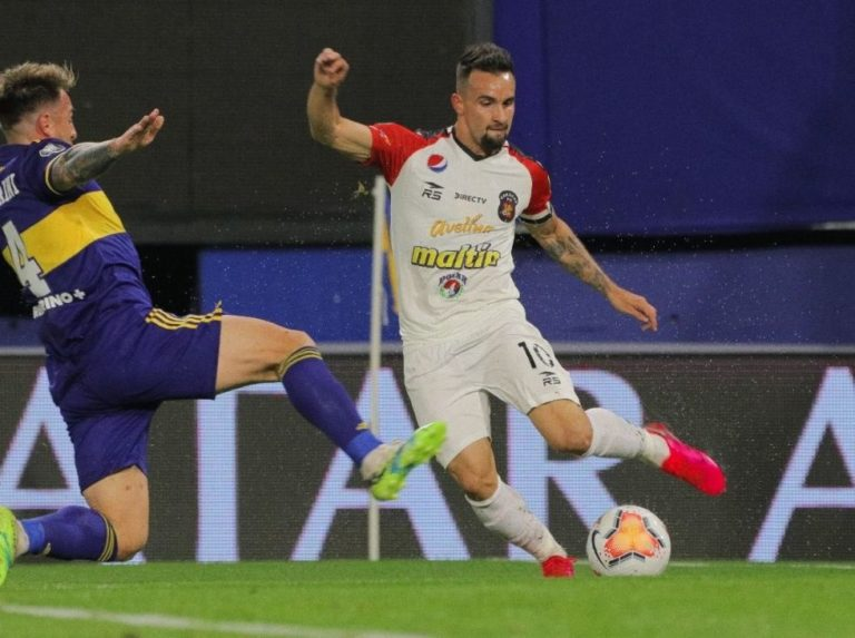 Caracas could not against Boca and ended up classified for the South American Cup