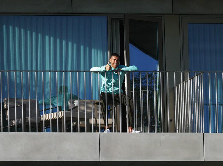 Cristiano Ronaldo tested positive for Covid-19 again