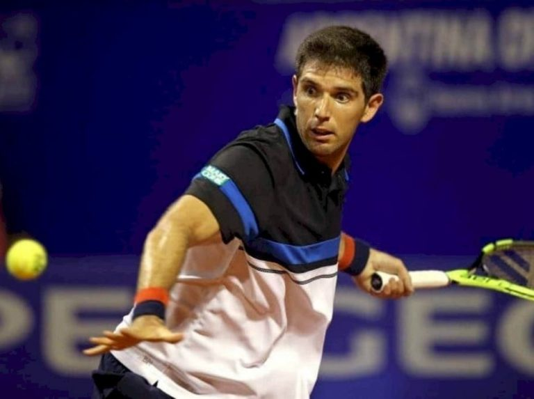 Delbonis reached the second round at the Sardinia Open