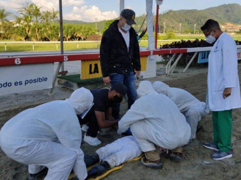 INH medical corps treated rider Keithon Natera