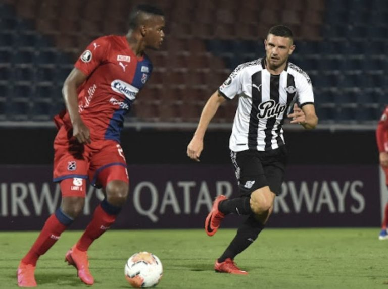 Libertad went to the second round despite falling to DIM