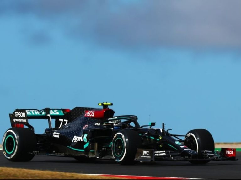 Bottas took the first training session in Portimao