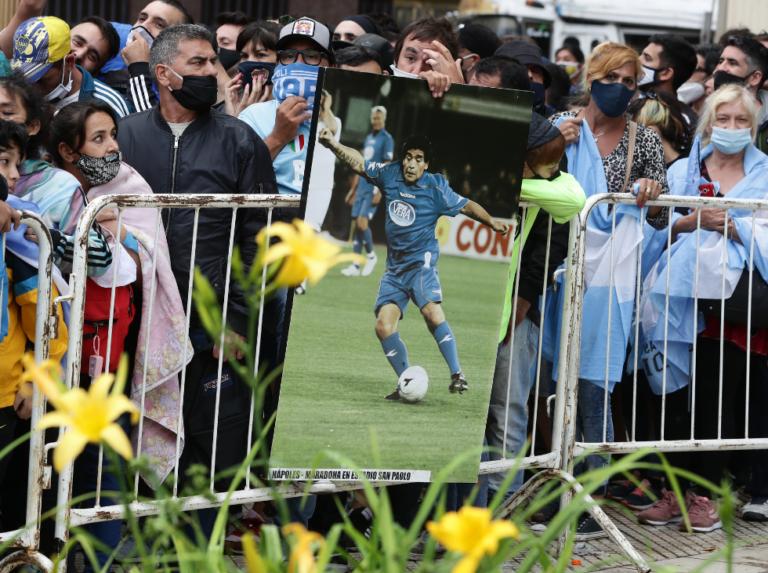 Familia de Maradona pidió que el velatorio público termine a las 19:00 horas