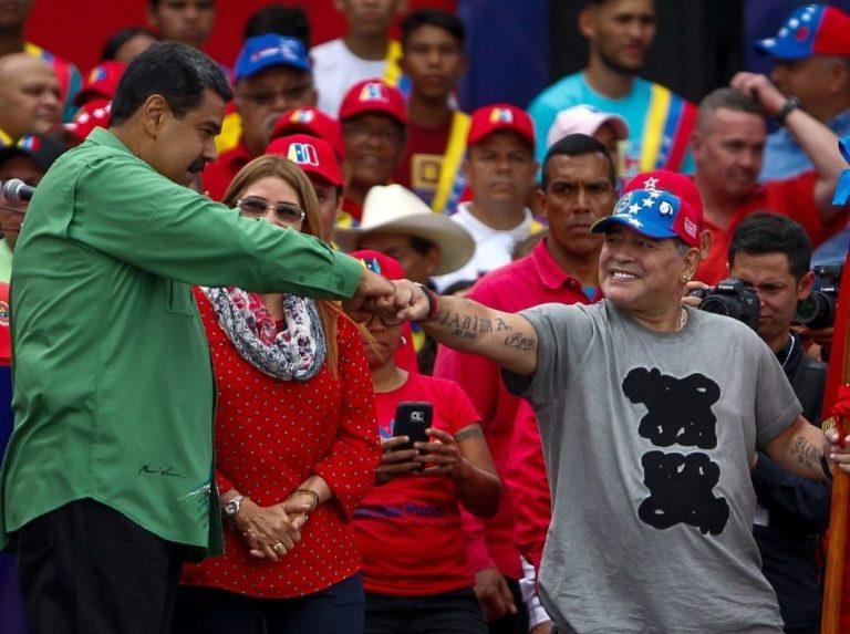 """Nicolás Maduro: """"Nos ha dejado una leyenda"""""""